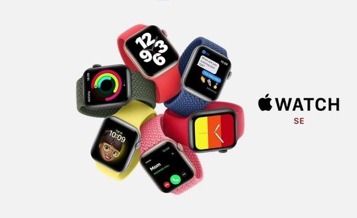 hero apple event apple watch se