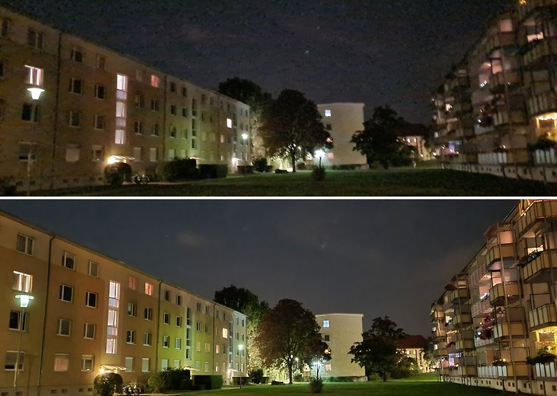samsung galaxy note 20 photo night