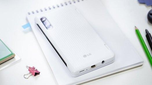AndroidPIT LG Velvet dual screen case back