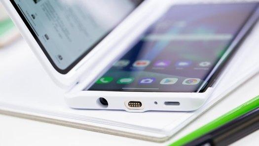 AndroidPIT LG Velvet dual screen case usb