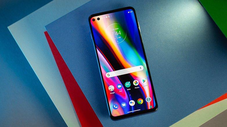 NextPit Motorola Moto G 5G Plus front