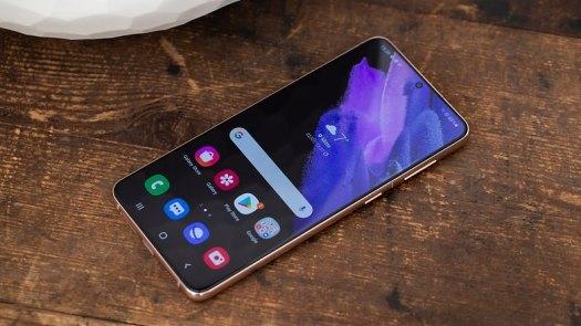 NextPit Samsung Galaxy S21 Plus screen front