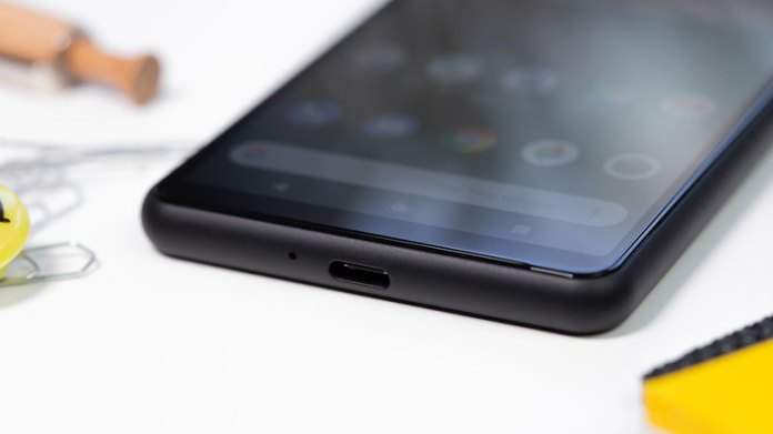 AndroidPIT Sony Xperia 10 II usb