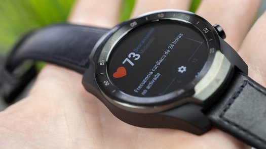 AndroidPIT TicWatch Pro bpm