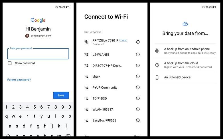 Настроить Android