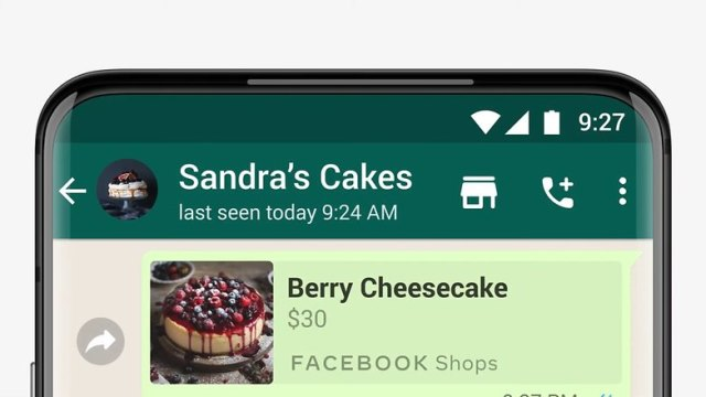 WhatsApp Shopping Button