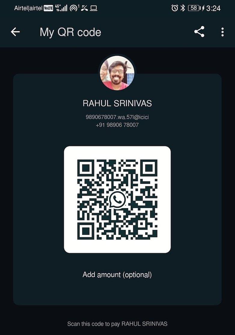 QR-код WhatsApp Pay