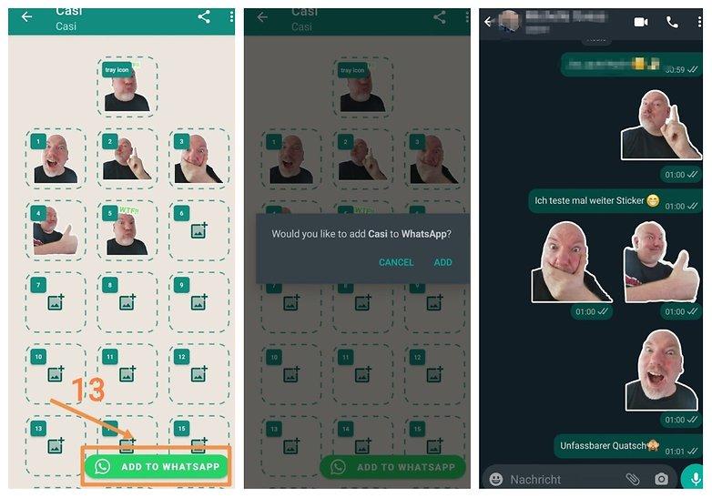 Стикер WhatsApp 3