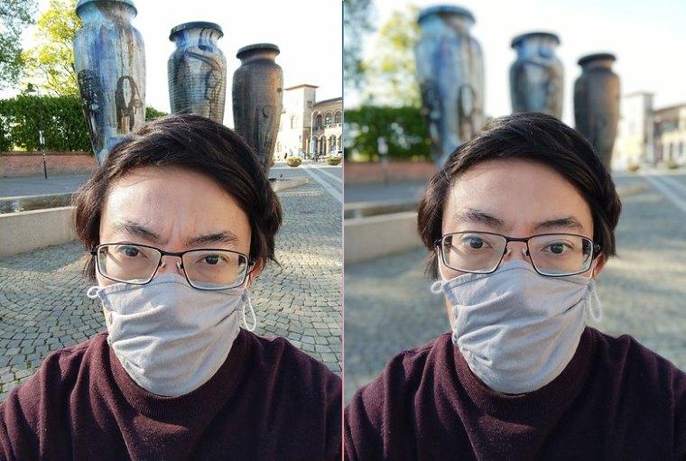 Redmi Note 10 selfie