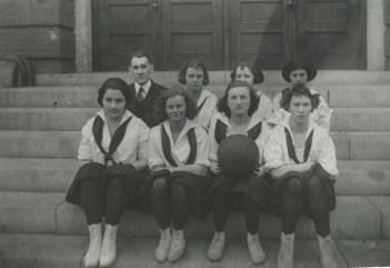 Women's Basketball Team, c. 1900