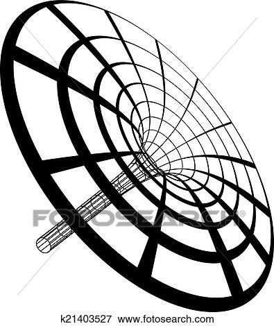 Black Hole Funnel Clip Art | k21403527 | Fotosearch