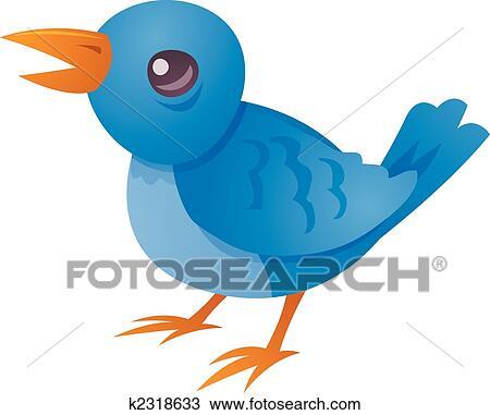 小鳥叫聲 剪圖Clipart | k2318633 | Fotosearch