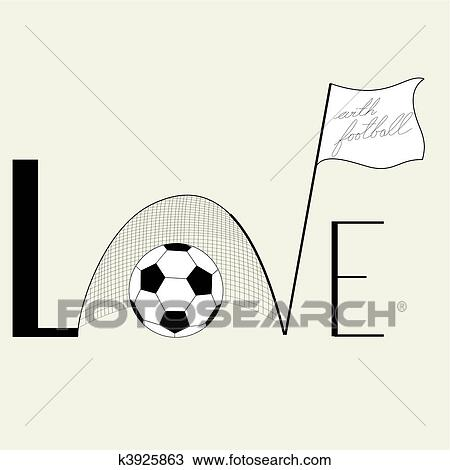 Download Inscription Love Clipart   k3925863   Fotosearch