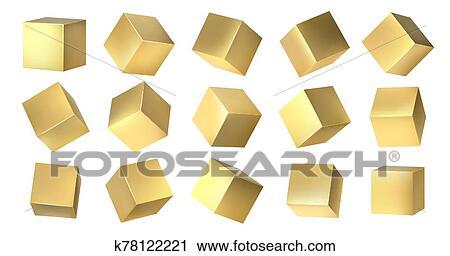 黃金, 183 w, 從, 集合 ...