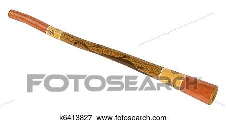 Didgeridoo Stock Illustration   k6413827   Fotosearch