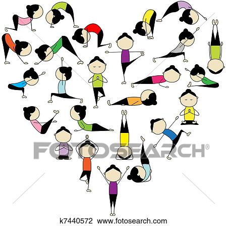 Κλιπαρτ - εγώ, αγάπη, yoga!, αγάπη αναπτύσσομαι, για, δικό σου, σχεδιάζω. Fotosearch - Αναζήτηση Clipart, τοιχογραφιών σε αφίσα, σχεδίων και διανυσματικών γραφικών EPS συμπυκνωμένης μορφής PostScript