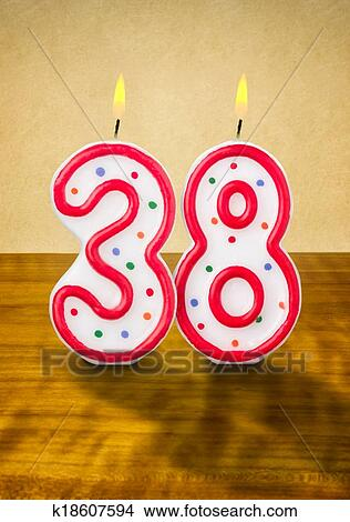 number 38 # 13