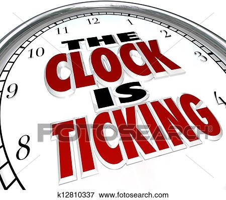 Image result for picture of a clock ticking down