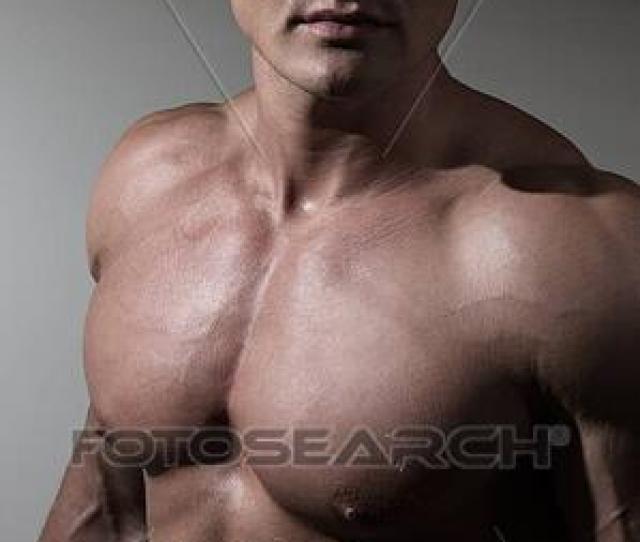 Portrait Of Young Handsome Bodybuilder