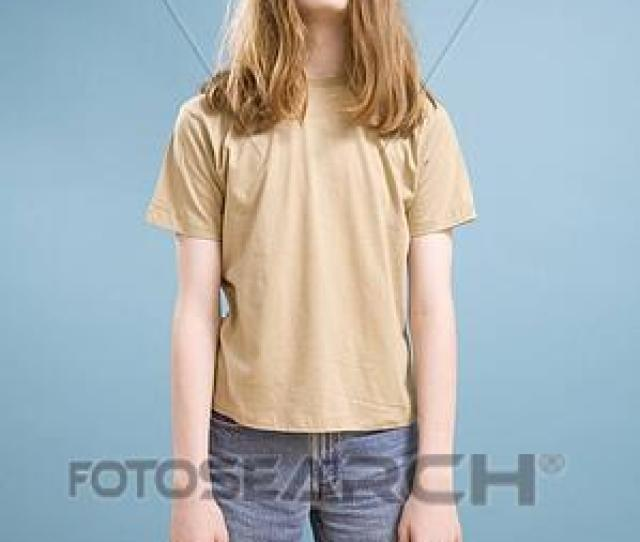 Stock Photo Teen Boy With Long Hair Fotosearch Search Stock Images Poster