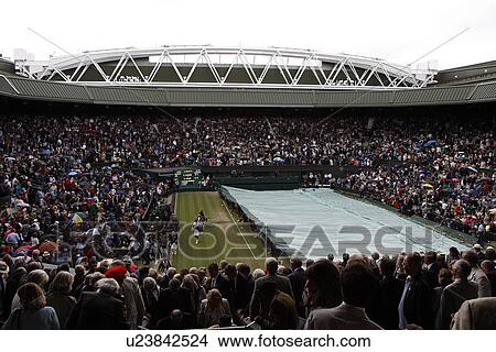 Stock Photo of England, London, Wimbledon, View of centre ...