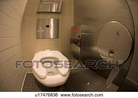 commode in toilet