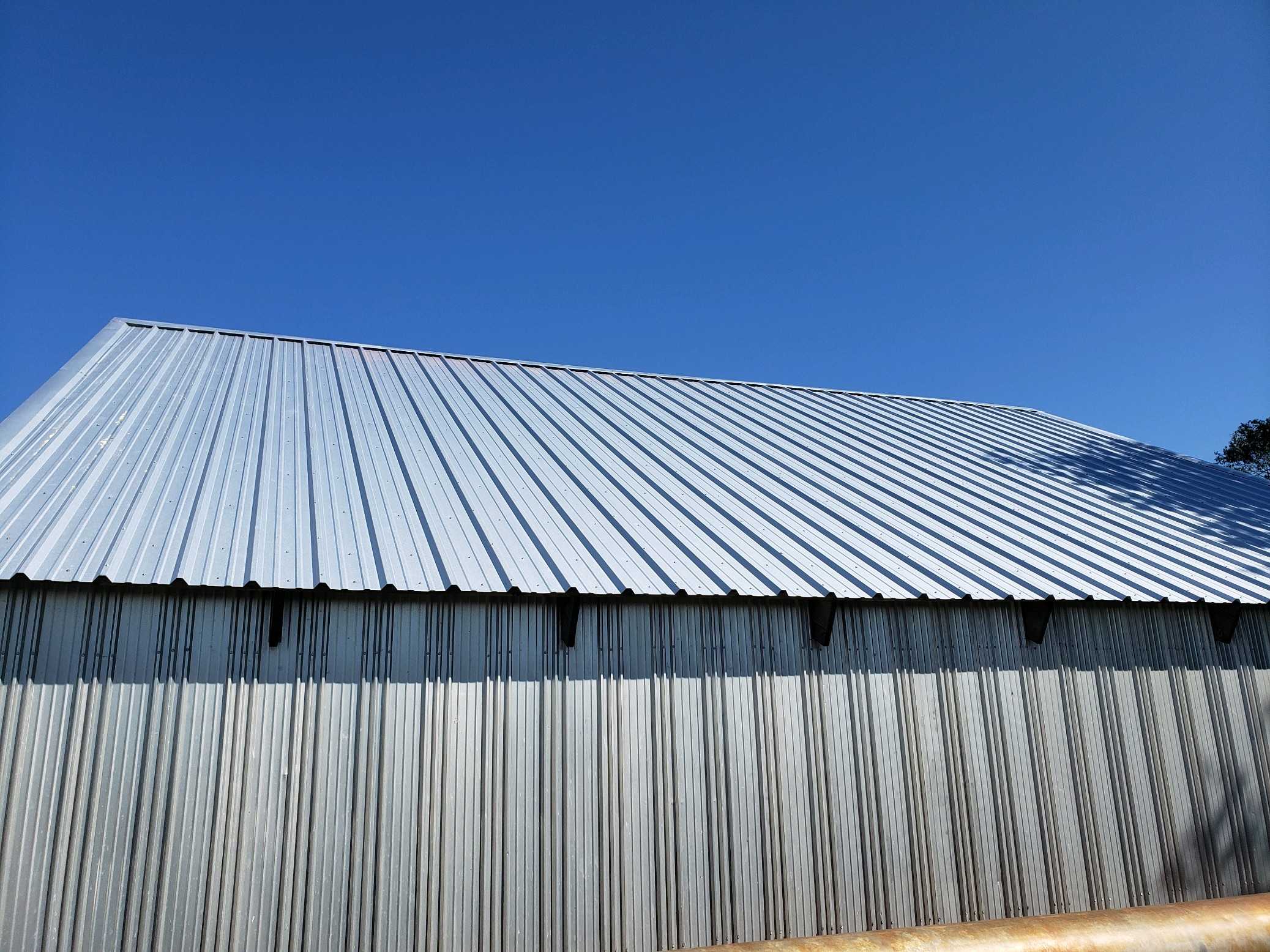 barn tin roof