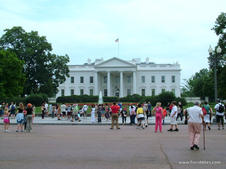 Where's the rest of the White House?
