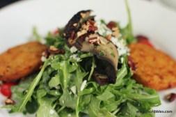 Fried Green Tomato Salad (aka Yum)