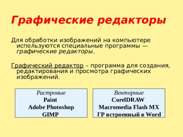 """Презентация """"Растровая и векторная графика"""" - информатика ..."""