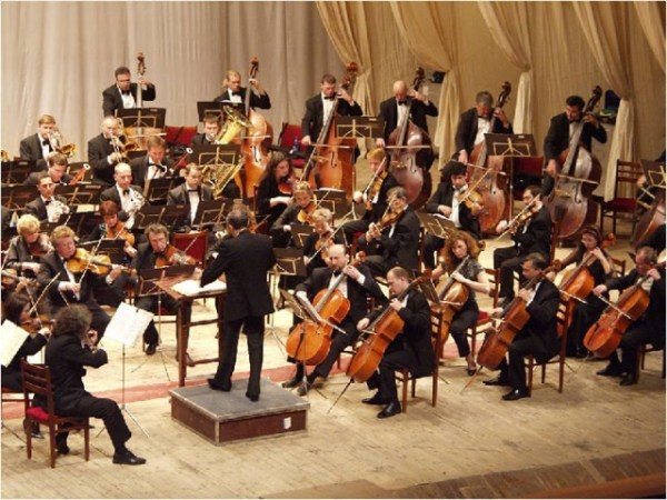 """Царит гармония оркестра"" презентация - музыка, презентации"
