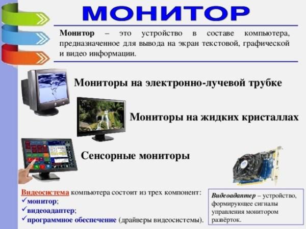 """Урок """"Устройство ввода и вывода информации"""" - информатика ..."""