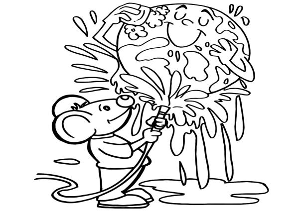 """Раскраски """"Берегите природу!"""" - Дошкольное образование ..."""