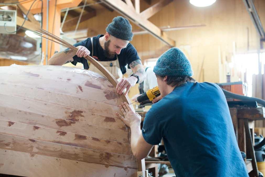 How a Washington Boat Building School Keeps History Afloat