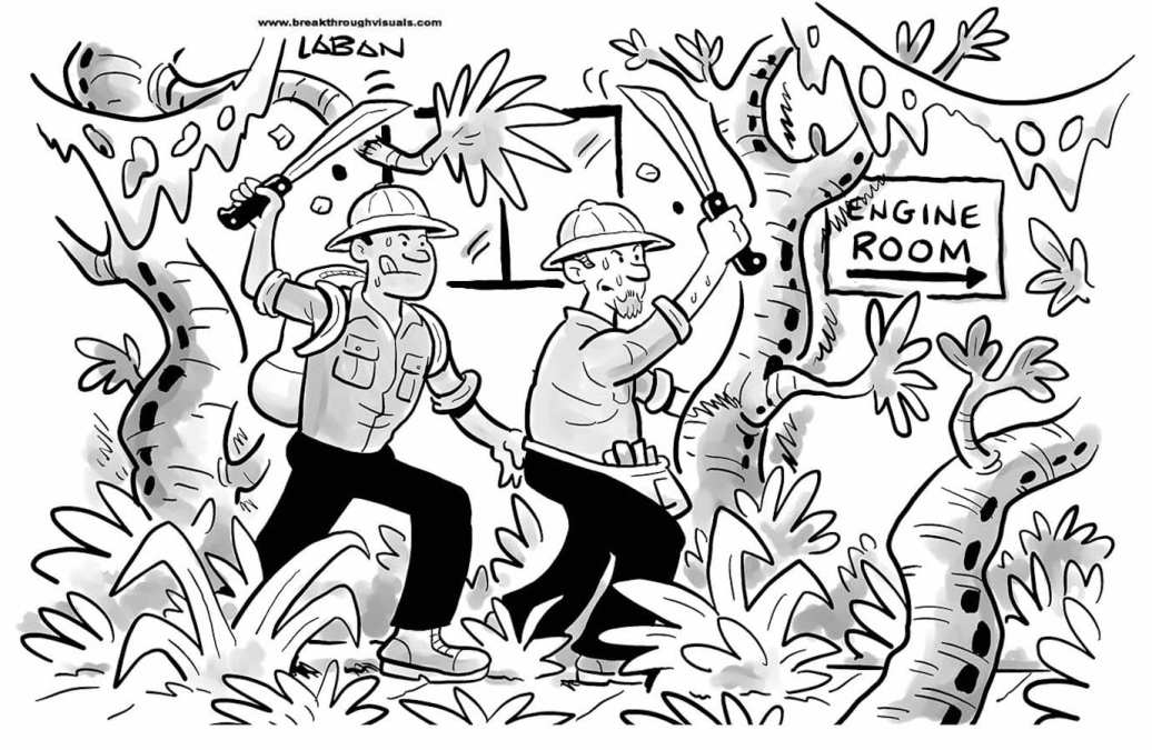 Comic Brake: It's a Jungle Out There