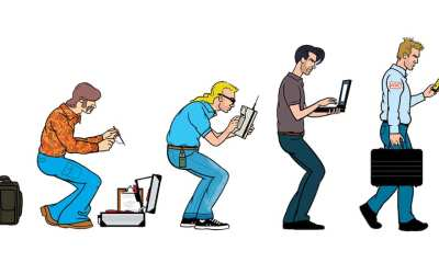 Comic Brake: The Evolution of Field Service