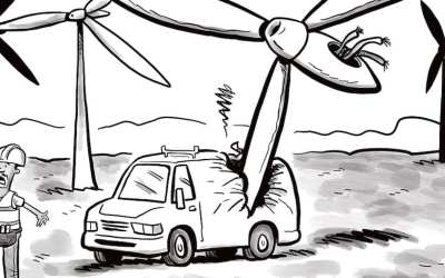 Comic Brake: A Turbine Tragedy