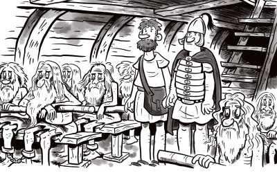 Comic Brake: Service Goes Medieval
