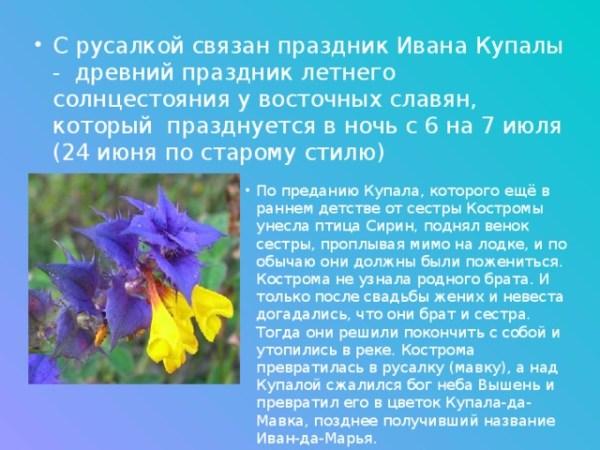"""Презентация по ИЗО """"Русалии и русалки в картинах русских ..."""