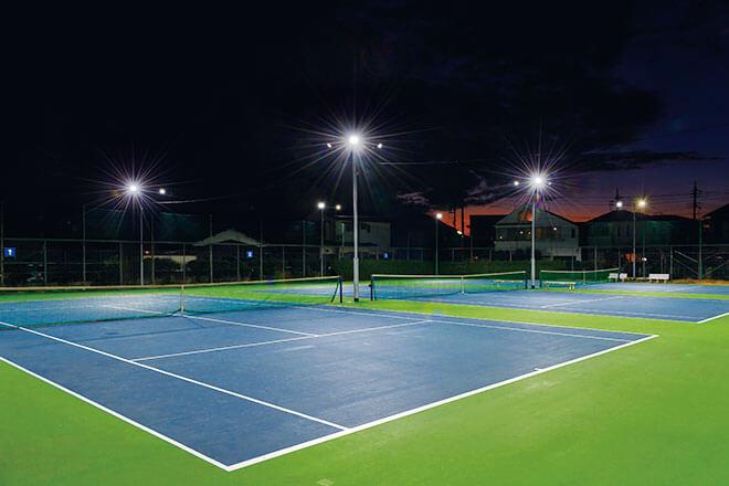 tennis court lighting fsg