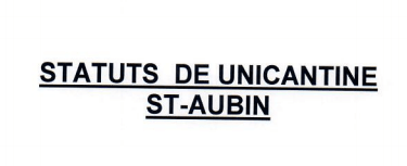 Statuts Unicantine
