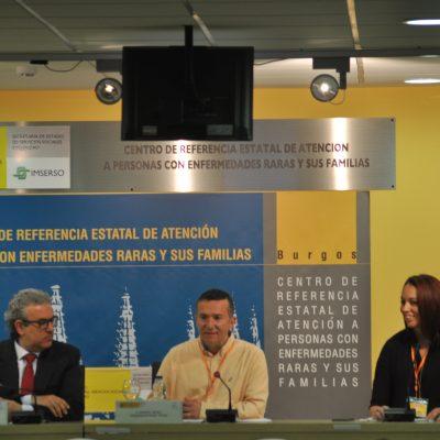 Manuel, Pilar y el Director del CREER