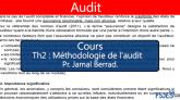 Audit cours s5 Méthodologie de l'audit