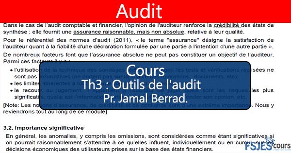 Outils de l'audit