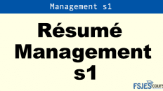 Résumé Management s1 pdf