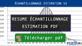 ÉCHANTILLONNAGE ESTIMATION pdf s3 maroc