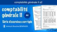 Comptabilité générale II exercices corrigés