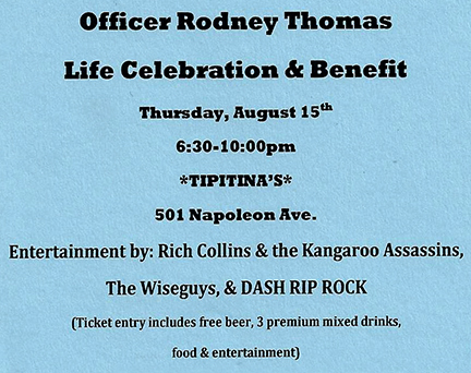 Benefit for Rodney Thomas