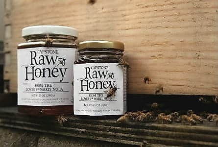 Help Feed New Orleanians – Buy Capstone Honey at Terranova's
