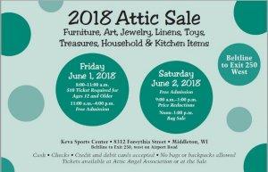 2018 Attic Sale